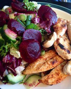 Chicken Salad Scottish Slimmers style
