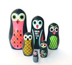 Ingela P. Arrhenius Nesting Dolls $22.50