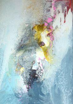 TITRE : Une nouvelle idée Acrylique sur toile étirée. Dimensions : 40 cm x 50 cm (15,75 pouces x 19,69 pouces), la toile a env. 0,7 pouces de