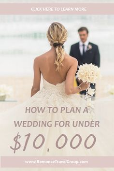 Want to plan a wedding on a budget? Then, check out our best tips for planning a wedding with a $10,000 budget! Destination weddings are not only affordable wedding options, but truly unique and memorable! All Inclusive Destination Weddings, Destination Wedding Planner, Wedding Resorts, Hotel Wedding, Wedding Planners, Honeymoon Destinations, Lilac Wedding, Beach Wedding Photos, Wedding Advice