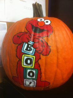Pumpkin Elmo