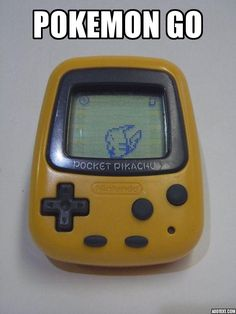 Before there was Pokemon Go... #gaming #games #gamer #videogames #videogame #anime #video #Funny #xbox #nintendo #TVGM #surprise