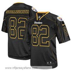 John Stallworth jersey 82 Men's Nike elite Pittsburgh Steelers Black #steelers #jerseys