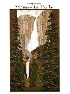 Hey, I found this really awesome Etsy listing at https://www.etsy.com/listing/220120854/landscape-quilt-pattern-yosemite-falls