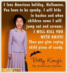 betty kong halloween
