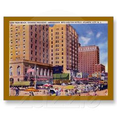 Hotels, Atlantic City, New Jersey 1933. $1.95