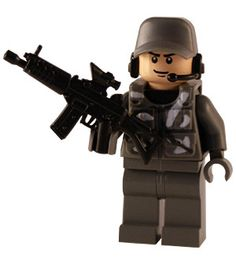 Modern Military - Urban Army - Scout - Custom Lego Figure - Buy Lego Figures, Custom Minifigs Shop, Guns, Guitars, Weapons, Parts for Sale