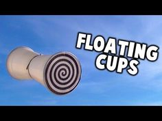 Physics of toys- Cup Flyers // Homemade Science with Bruce Yeany - YouTube