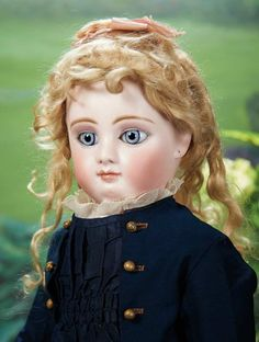Stunningly Beautiful French Bisque Bebe Mothereau with Splendid Eyes 9000/13,000 Auctions Online | Proxibid