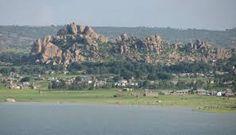 Singida on Singida Lake