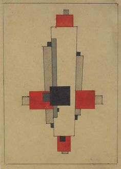 """The """"arkhitektons"""" and """"planets"""" of Kazimir Malevich and his students Nikolai Suetin and Il'ia Chashnik (mid-1920s), with commentary by Aleksei Gan   The Charnel-House"""