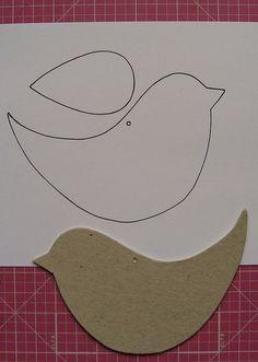 Bird template printable bing images tons of bird templates on this link for fondant cutouts diy projects – Artofit Bird Crafts, Clay Crafts, Felt Crafts, Fabric Crafts, Sewing Crafts, Diy And Crafts, Sewing Projects, Crafts For Kids, Craft Projects