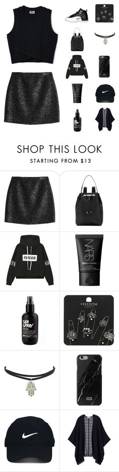 """MY BIRTHDAY OUTFIT (And yes I wore those shoes)"" by denzi-767 ❤ liked on Polyvore featuring Victoria, Victoria Beckham, Retrò, The Row, NARS Cosmetics, Topshop, Native Union, Nike Golf and Tory Burch"