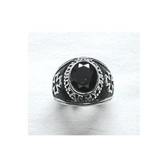 High School Black Ring