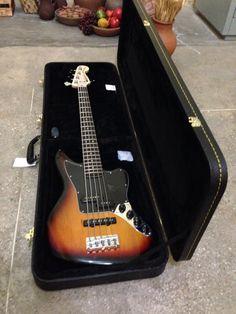 My Fender Squier Jaguar Bass