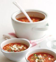 Barevná fazolová polévka | Recepty Albert Chili, Soup, Ethnic Recipes, Chile, Soups, Chilis