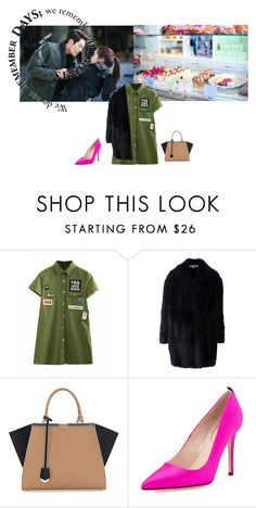 """""""Untitled #1303"""" by angelworlds21 ❤ liked on Polyvore featuring Shin Choi, Alexander McQueen, Fendi and SJP"""
