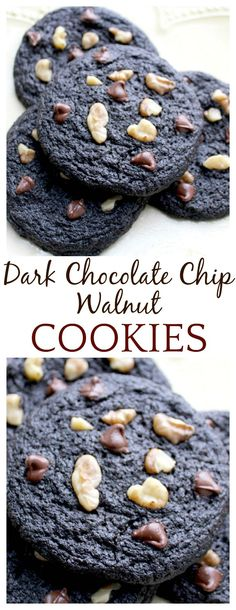 Yes yes yes! These turned out to be the most decadent, thin cookies with a chewy center and crispy edges! Perfect cookies if you ask me! If you are a dark chocolate lover, you have got to try this cookie recipe!