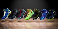 Under Armour Debuts Stephen Curry's First Signature Shoe - The #CurryOne