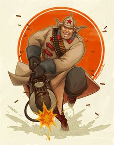 1920s #TF2 Heavy by Ramida-R