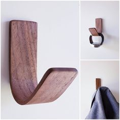 Adhesive Wall Hooks, Command Hooks, Towel Storage, Coat Hooks, Solid Surface, Everyday Objects, Hanging Lights, Solid Oak, Hand Towels