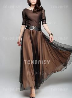 Shop Floryday for affordable color block long sleeve maxi a-line dress. Floryday offers latest color block long sleeve maxi a-line dress collections to fit every occasion. Long Sleeve Maxi, Maxi Dress With Sleeves, Dress Skirt, Dress Up, Dress Long, Long Dresses, A Line Dresses, Floryday Dresses, Bridesmaid Dresses