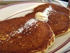 Corn Batter Cakes - Raymond's - Ridgewood - New Jersey - Tony Mangia - Devil Gourmet - www.DevilGourmet.com