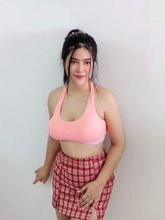 Beautiful Girl Body, Beautiful Asian Women, Cute Asian Girls, Hot Girls, Myanmar Women, Chubby Girl, Curvy Women Fashion, Curvy Outfits, Hottest Models