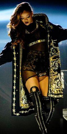 Rihanna-Custom-Givenchy-Parka-Diamonds-World-Tour