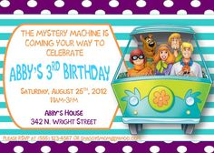 Personalized Scooby Doo Girl Birthday by SamanthaJoDesigns on Etsy, $5.00