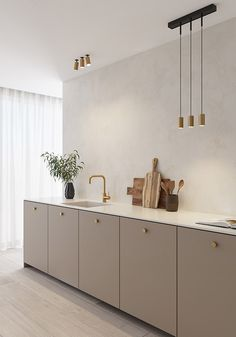 Home Decor Kitchen, Interior Design Kitchen, Home Kitchens, Style Deco, Ideas Geniales, Scandinavian Kitchen, Cuisines Design, Küchen Design, Interior Inspiration