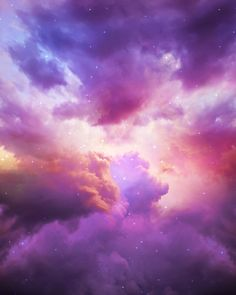 The Skies Are Painted (Cloud Galaxy) Art Print