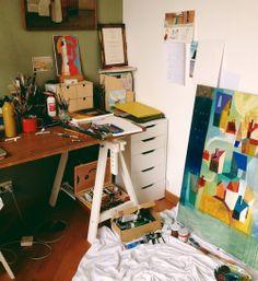 escritorio y lugar de trabajo