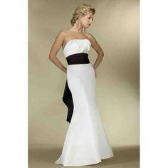 Unique Black And White Wedding Dresses