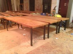 dinning tables by naan industries