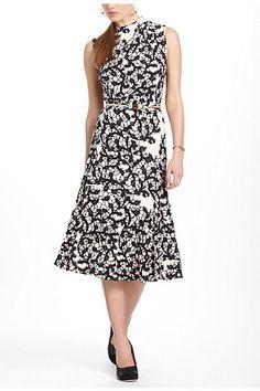 Inkweb Dress - Anthropologie.com