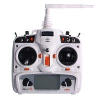 Image of DEVO 10 2.4GHz DSSS Transmitter with Receiver RX1002 for RC Helicopter