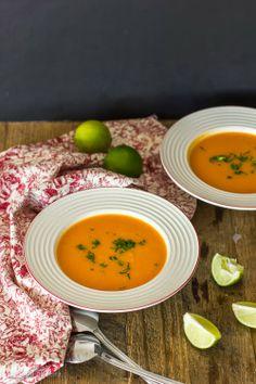 FLORES DE OLIVEIRA: Sopa de batata doce e caril • Sweet potato and curry soup