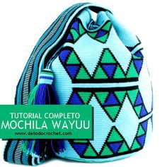Aprende a tejer tu propia mochila wayuu tapestry con ganchillo - Wayuu tapestry backpack crochet Wiggly Crochet, Crochet Diy, Mochila Tutorial, Mochila Crochet, Tapestry Crochet Patterns, Crochet Backpack, Tapestry Bag, Crochet Purses, Knitted Bags