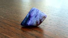 """""""Charoite is a clear, strict and powerful teacher. When one veers from one's appointed path, engages in negative behavior or self-sabatoge, or attempts to 'cop out' on one's spiritual work, Charoite's energy is right there to hold an energetic mirror in front of one's face. For those who are serious about working on themselves and are ready to commit to their paths of service, Charoite can be the best of friends and one's greatest ally."""" - Naisha Ahsian from The Book of Stones  Purify…"""
