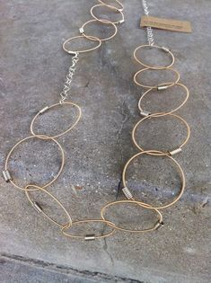 Old Guitar String Jewelry
