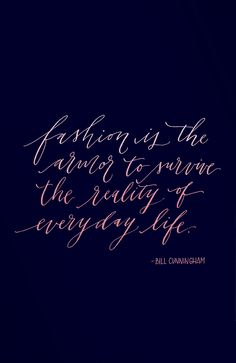 The best fashion quotes of all time via @stylelist