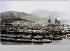Cais da Praça XV e Igreja da Candelária  1890