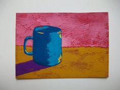 The Morning Cup of Coffee 95 ARTIST TRADING CARDS by MikeKrausArt