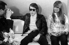 Jacques Dutronc and Françoise Hardy, 1967