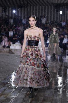 Dior Shows Cruise Collection Inspired by Female Mexican Rodeo Riders in the Pouring Rain - Fashionista