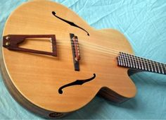 The Dome....electric nylon string archtop