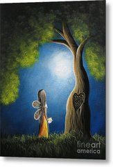 True Love Lasts Forever By Shawna Erback Metal Print by Shawna Erback