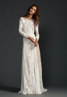 Top 17 Boho Style Wedding Dress Designs – Famous Pretty Trend On Fashion Blog - DIY Craft (7)