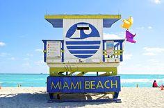 Miami Beach Lifeguard Post